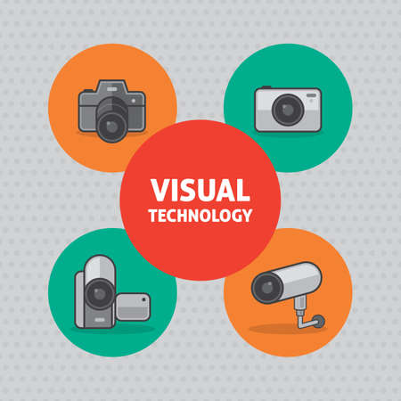 visual: infographic of visual technology Illustration