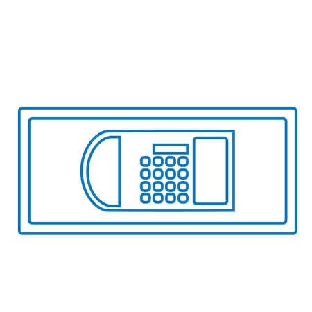 safekeeping: safe deposit box