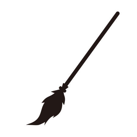 broomstick: witch broomstick