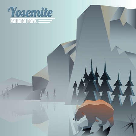 national park: yosemite national park