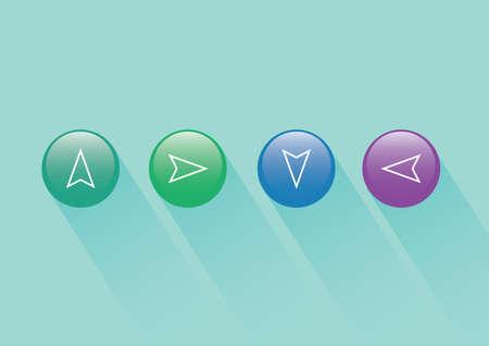 web: web buttons