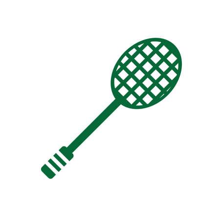 racket: badminton racket