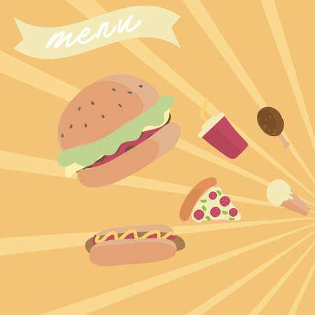 food: fast food menu