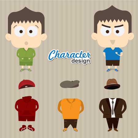 character design: character design Illustration
