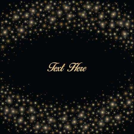 nuit étoilée copie texte espace