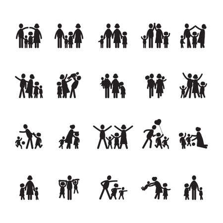 family: family icons