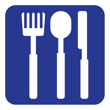 fork and spoon: fork, spoon and knife