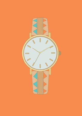 wrist watch: wrist watch
