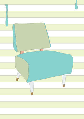modern: modern chair Illustration