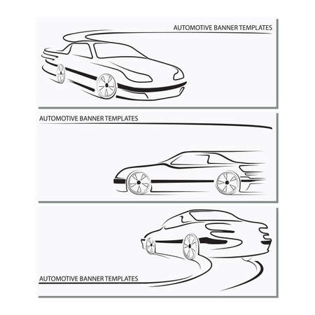 automotive banner template