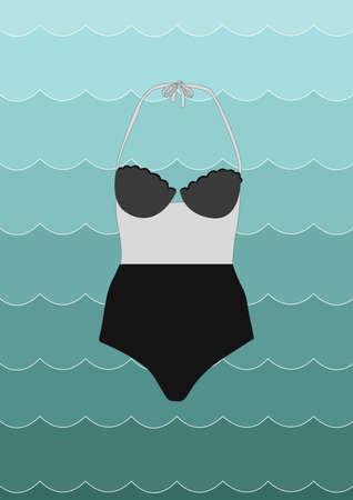beachwear: swimwear