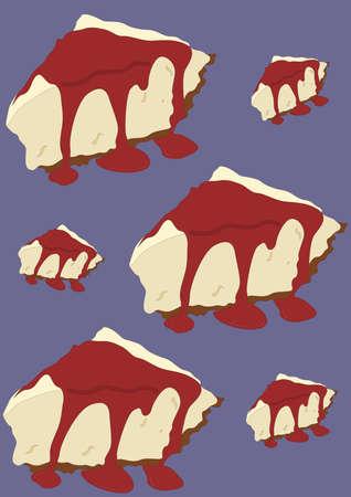 cake slice: cake slice background