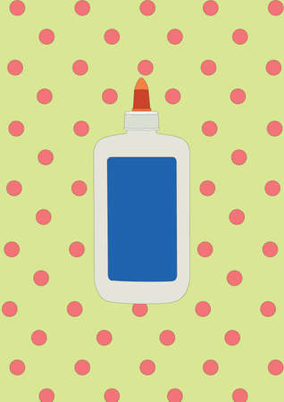 pegamento: botella de pegamento