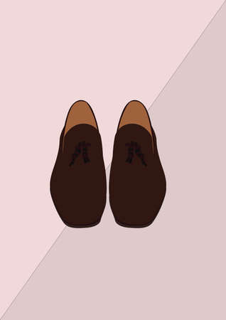 shoelaces: shoes Illustration