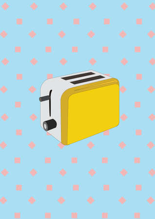 toaster: bread toaster
