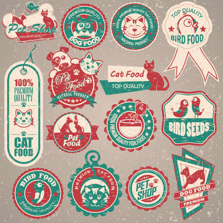 branded product: animal labels