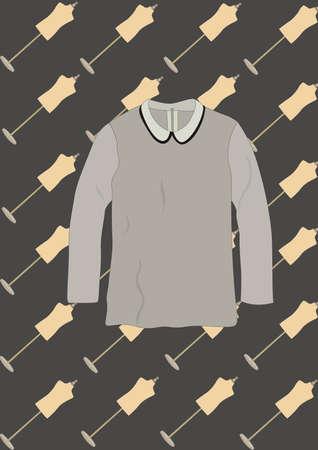 long sleeves: long sleeves blouse