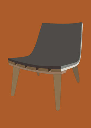 slope: slope chair