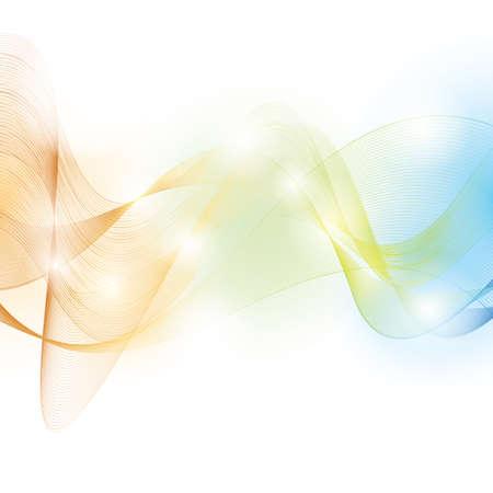 elemental: abstract background Illustration