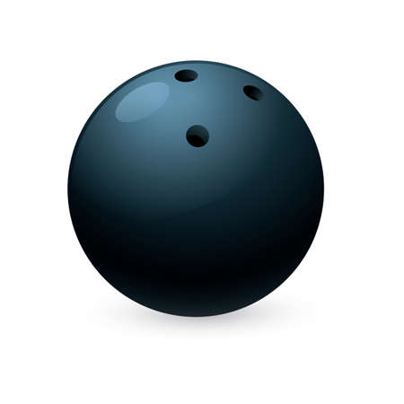 bowl game: bowling ball