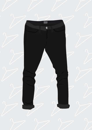 attire: pants Illustration