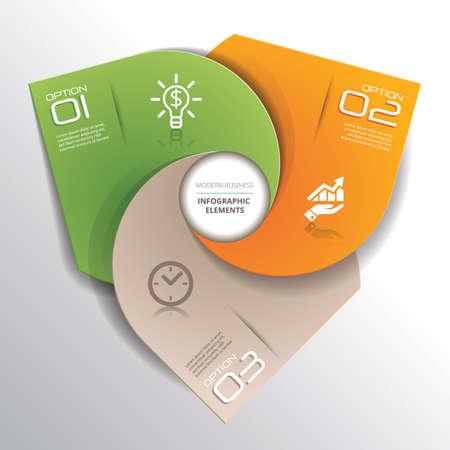 element: infographic element Illustration