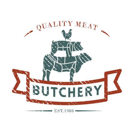 butcher shop label