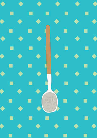 sieve: sieve spoon