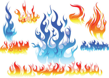 engulfed: graphical fire elements