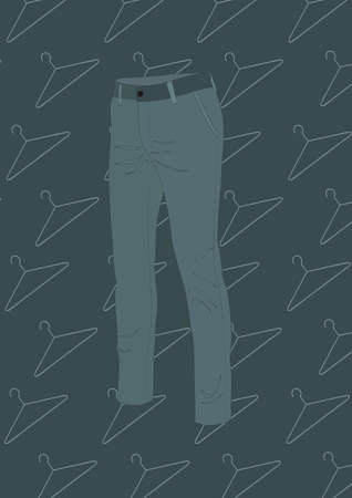 trousers: trousers Illustration