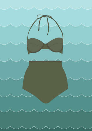two piece swimsuits: bikini