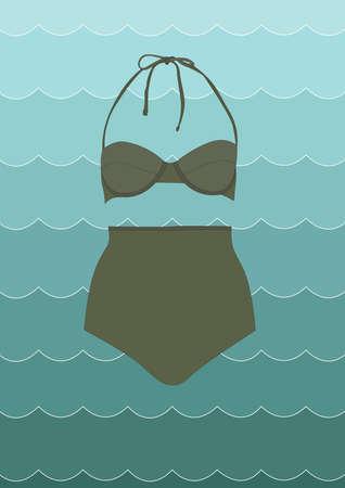beachwear: bikini