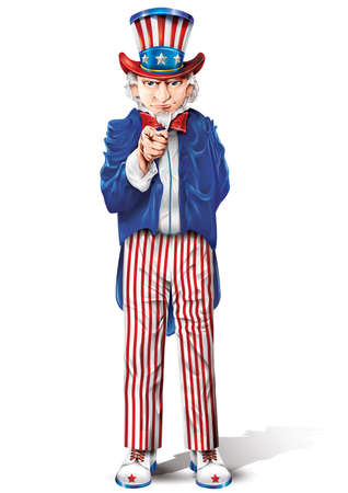 uncle sam pointing finger