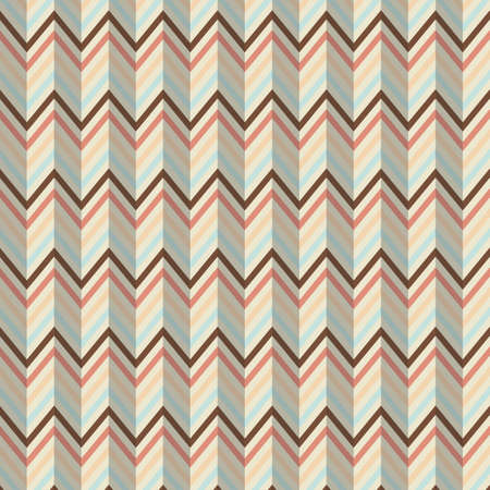effect: zigzag design with paper effect