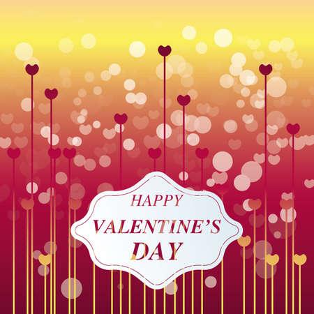 greeting: valentine greeting card Illustration