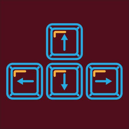 navigation buttons: navigation buttons Illustration