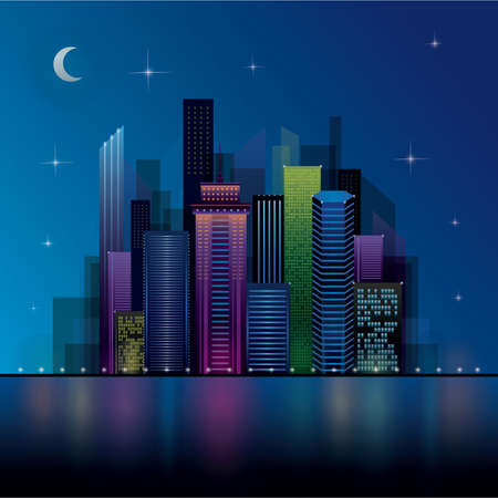 night view: night view cityscape