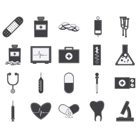 doctor icons Vector Illustration