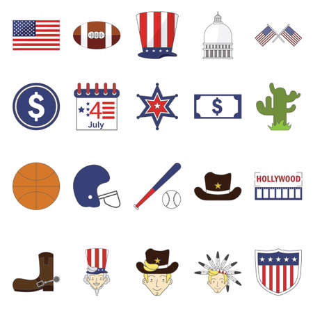 us coin: usa symbols collection