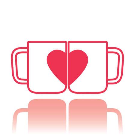 coffee cups: love coffee cups