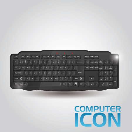 computer keyboard: computer keyboard