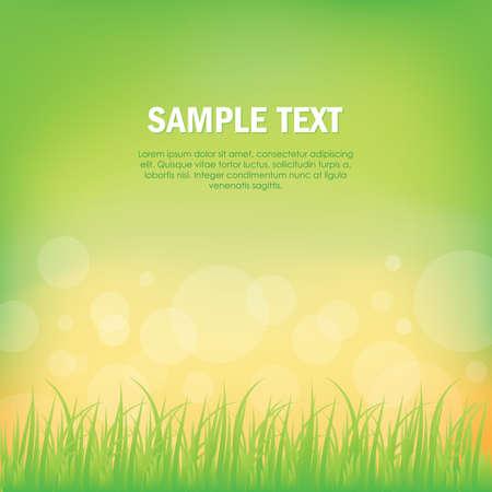 copyspace: grass background