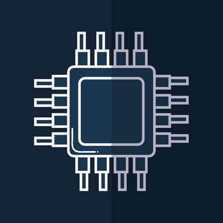 chip: computer chip