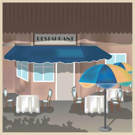 facade: restaurant facade