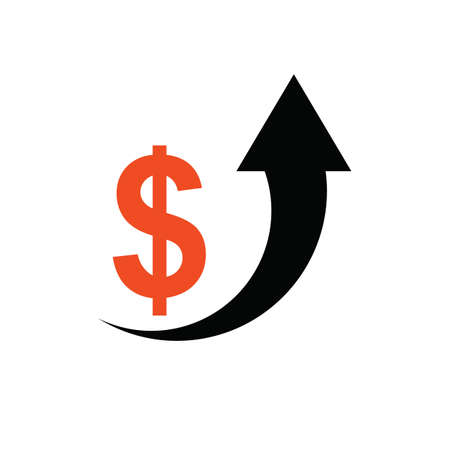 growth: growth in dollar Illustration