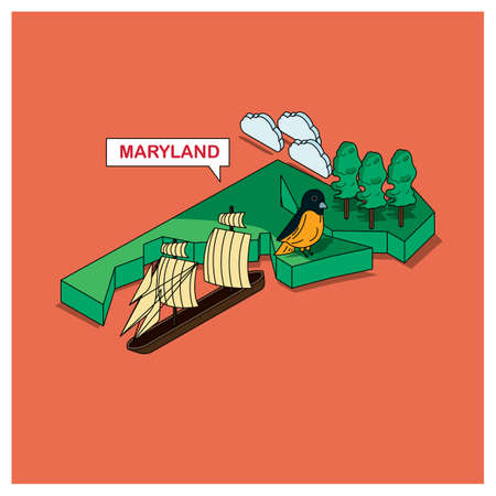 oriole: maryland state