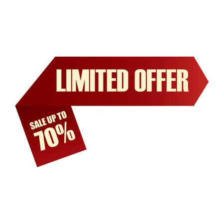 limited: limited offer label