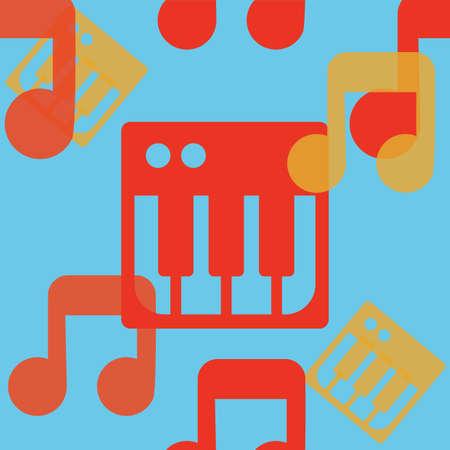 music background: seamless music background
