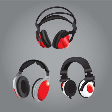 personal accessory: various types of headphones