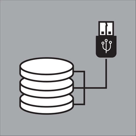 hard disk: database hard disk and cable